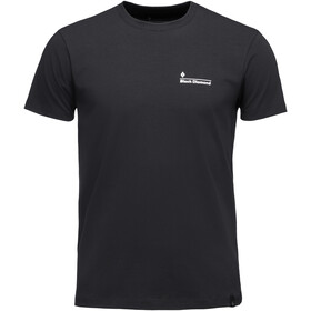 Black Diamond Diamond Line Tee Herr black